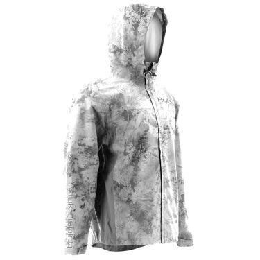 HUK Men's Camo Packable Rain Jacket