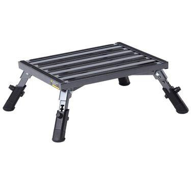 Stromberg Carlson Adjustable Leg Aluminum Platform Step