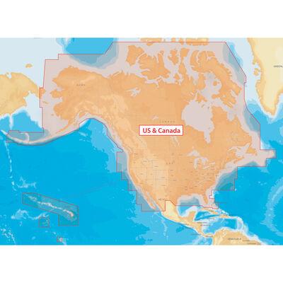 Navionics+ Cartography, All USA/Canada Regions