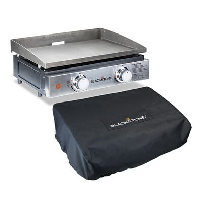 """Blackstone 22"""" Tabletop Griddle with Cover"""