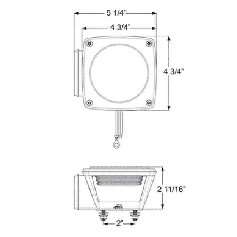 Optronics Waterproof LED Trailer Light Kit image number 2