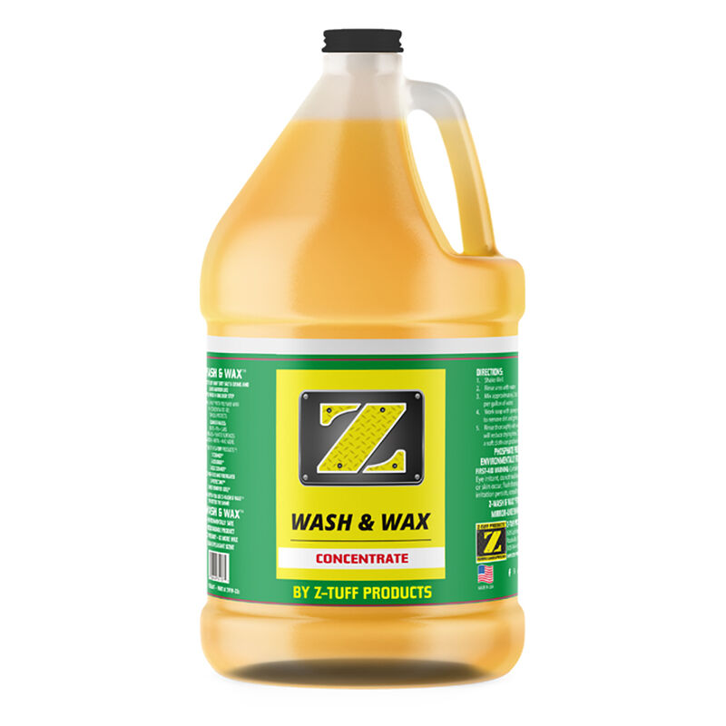 Z-Tuff Z-Soap Wash And Wax, Gallon image number 1