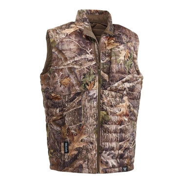 TrueTimber Men's Pulse TrueSuede Down Vest