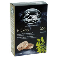 Bradley Flavor Bisquettes, 24-Pack, Hickory