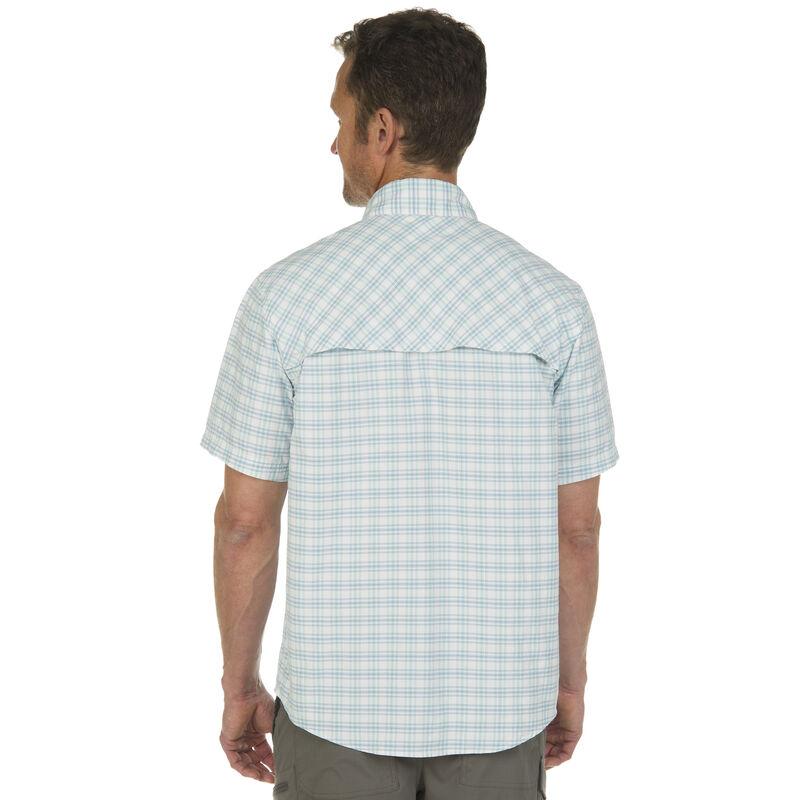 Nepallo Men's Trophy Quick-Dry Plaid Short-Sleeve Shirt image number 6