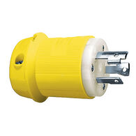 Hubbell 30A 125-Volt Ship-to-Shore Male Connector Plug, HBL305CRP