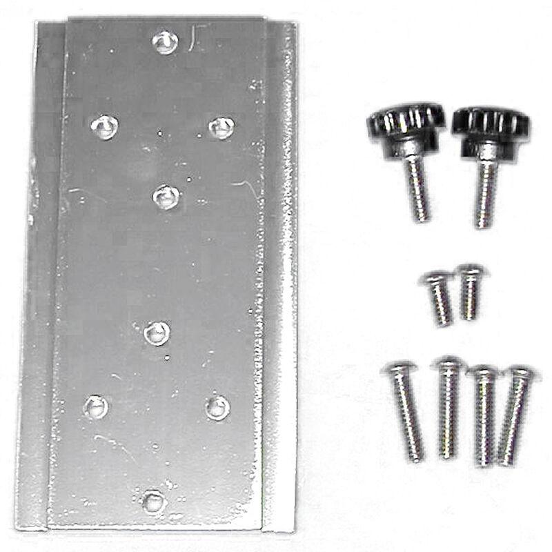 Bert's Custom Tackle Downrigger Adapter Plate image number 1