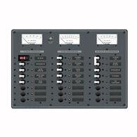 Blue Sea AC Main/DC Main Toggle Circuit Breaker Panel (230V or 120V AC)
