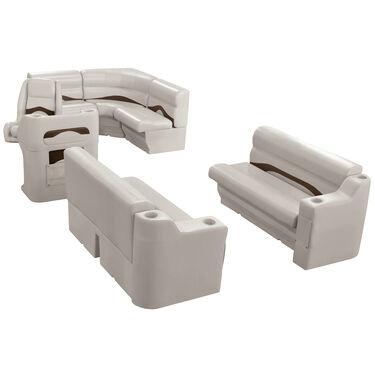 Toonmate Premium Pontoon Furniture Rear Entry Wraparound Package, Platinum