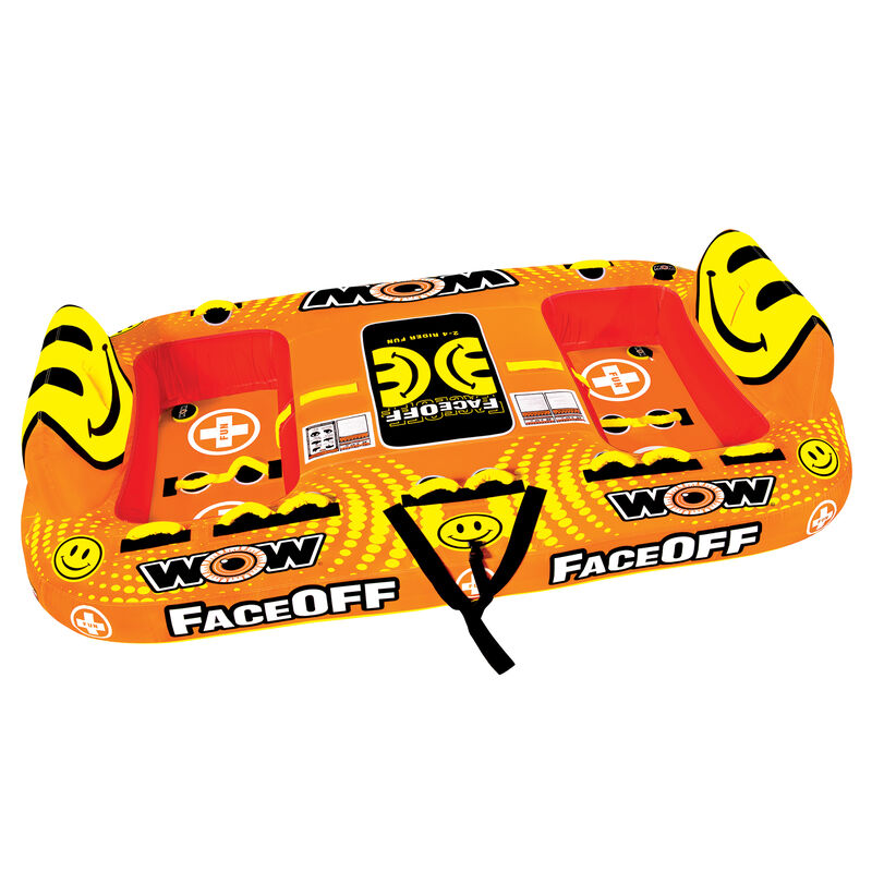 Wow Faceoff 4-Person Towable Tube image number 1