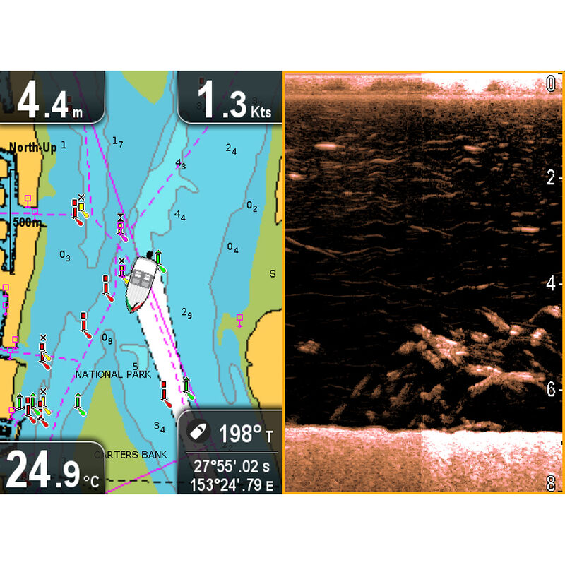Raymarine Dragonfly 5 DVS With Dual-Channel CHIRP DownVision Sonar image number 7