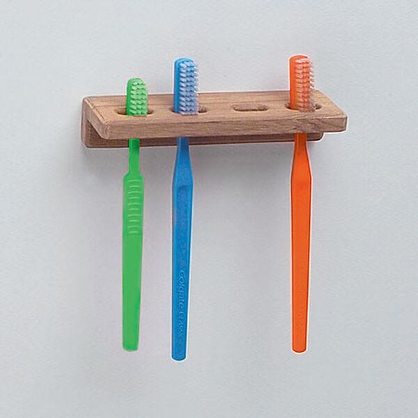 "SeaForce Teak Toothbrush Holder, 5-3/4""L x 1-7/8""D"