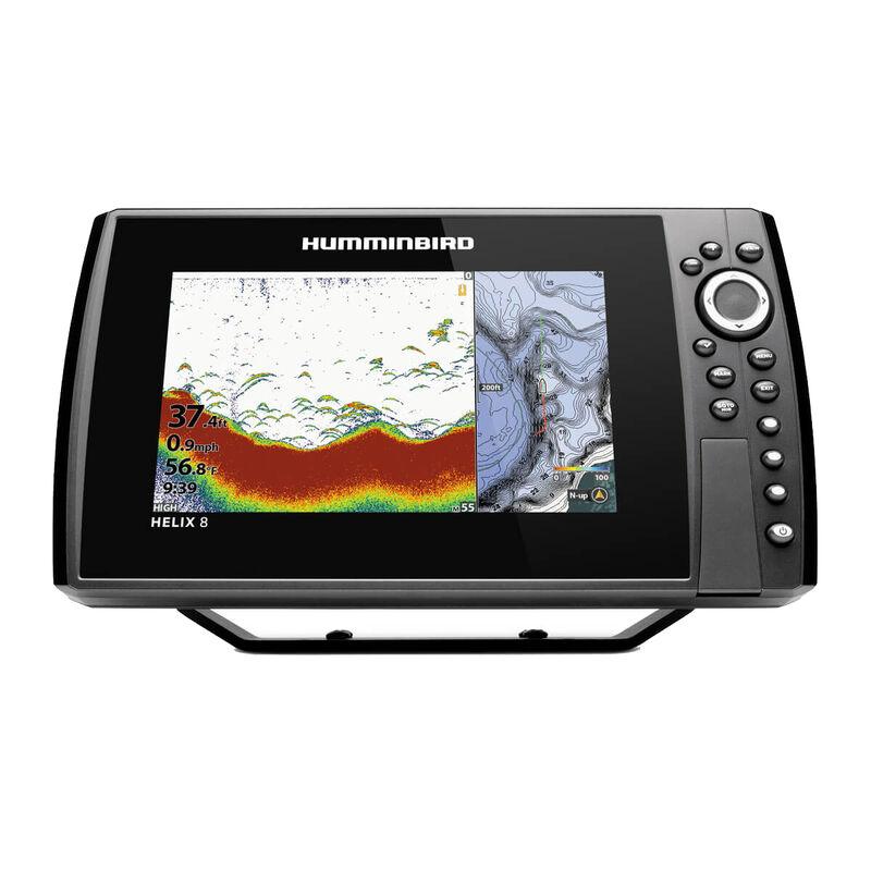 Humminbird Helix 8 CHIRP MEGA DI GPS G3N Fishfinder Chartplotter image number 1