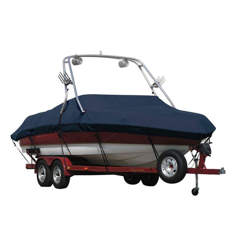 Exact Fit Sunbrella Boat Cover For Cobalt 200 Bowrider With Tower Covers Extended Platform image number 7
