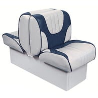 "Overton's Deluxe Back-to-Back Lounge Boat Seat with 10"" Base"