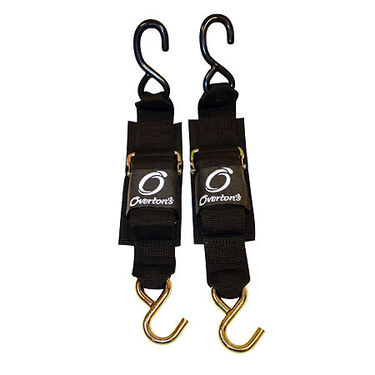 """Overton's Deluxe 2"""" x 4' Transom Tie-Downs, pair"""