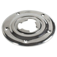 "Sequoia 7"" Diameter Stainless Steel Floor Base Only"