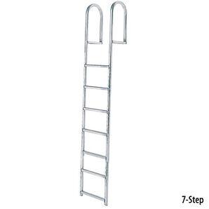 International Dock Stationary Dock Ladder, 7-Step