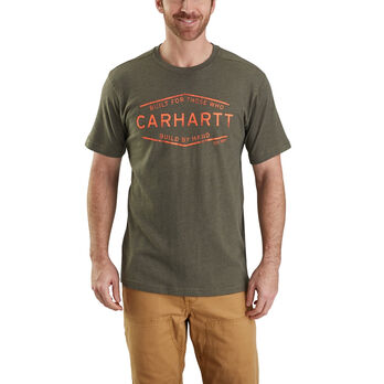 Carhartt Men's Maddock Graphic Build By Hand Short-Sleeve Tee