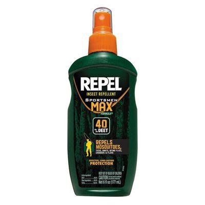 Repel Insect Repellent 6-Oz.Sportsmen Max Formula Pump Spray