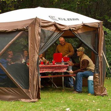 Pavilion Screen Shelter - 6 side DLX - Zip Down Sides