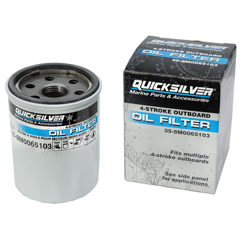 Quicksilver 4-Stroke Outboard Oil Filter image number 1