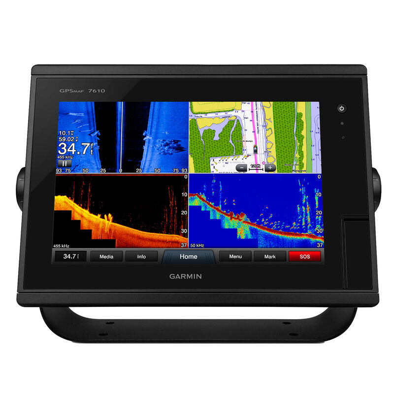 """Garmin GPSMAP 7610 10"""" Touchscreen Chartplotter With J1939 Port image number 1"""