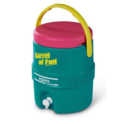 Igloo Retro Barrel of Fun 2-Gallon Jug