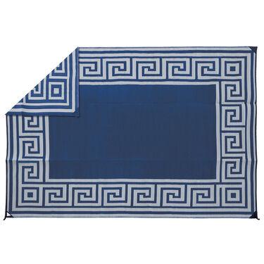 Reversible Greek Motif Design Patio Mat