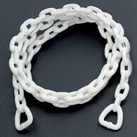 Vinyl-Coated Anchor Chain, White