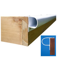 "Dock Edge Premium PVC ""P"" Profile, 32'"