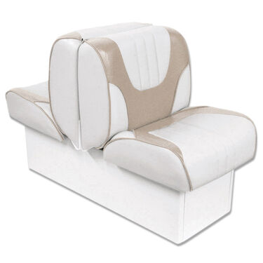 """Overton's Deluxe Back-to-Back Lounge Boat Seat with 8"""" Base"""