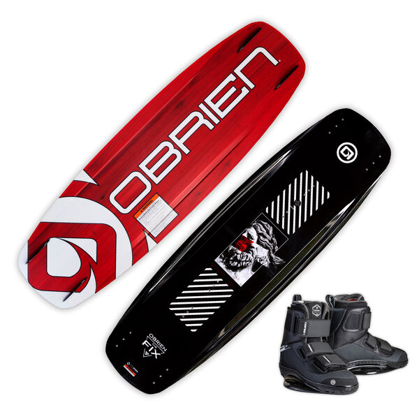 O'Brien The Fix Wakeboard With GTX Bindings