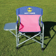 Kids' Director's Chair, Pink/Blue