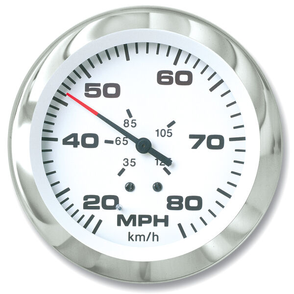 """Sierra Lido 3"""" Speedometer, 80 MPH"""