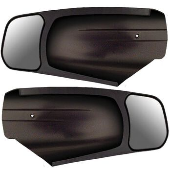 CIPA Custom Towing Mirrors, 2-Pack, Chevy Silverado/GMC Sierra, 2014-2018