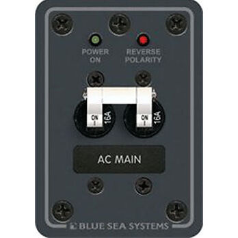 Blue Sea 230V AC Main Circuit Breaker Panel, 16A