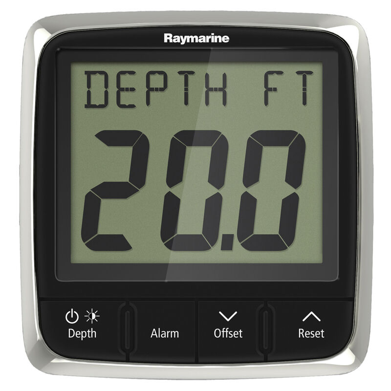 Raymarine i50 Depth Display System with Thru-Hull Transducer image number 1