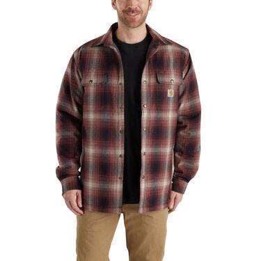 Carhartt Men's Hubbard Sherpa-Lined Shirt Jacket