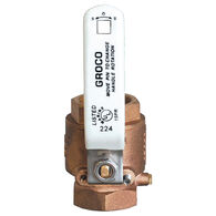 Groco IBV Series Bronze Full-Flow In-Line Ball Valve 3/4'' Pipe