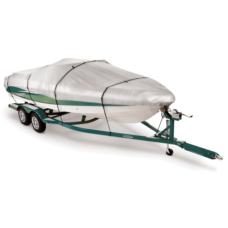 """13'5"""" max. length, Covermate Imperial 300 V-Hull Fishing Boat Cover image number 1"""