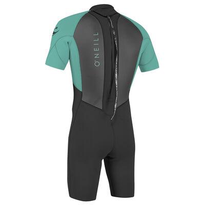 ONeill Youth Reactor Back Zip Spring Wetsuit - Aqua - 6