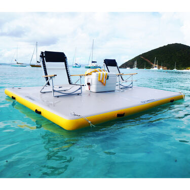 """Solstice Inflatable Floating Dock, 8' x 5' x 6"""""""