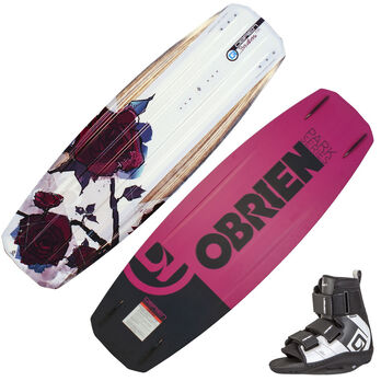 O'Brien Stiletto Wakeboard With Plan B Bindings
