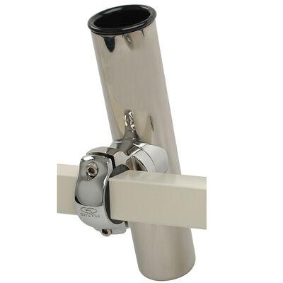 Smith Pontoon Square Rail Adjustable Clamp-On Rod Holder, each