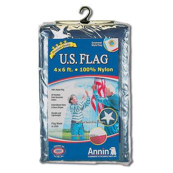 Annin Nylon U.S. Flag, 4' x 6'