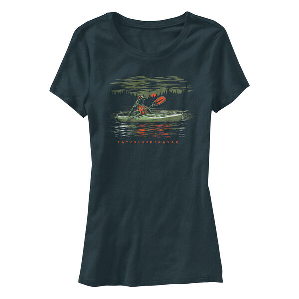 Points North Women's Eat Sleep Kayak Short-Sleeve Tee