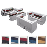 Deluxe Pontoon Furniture w/Classic Base - Complete Boat Package E