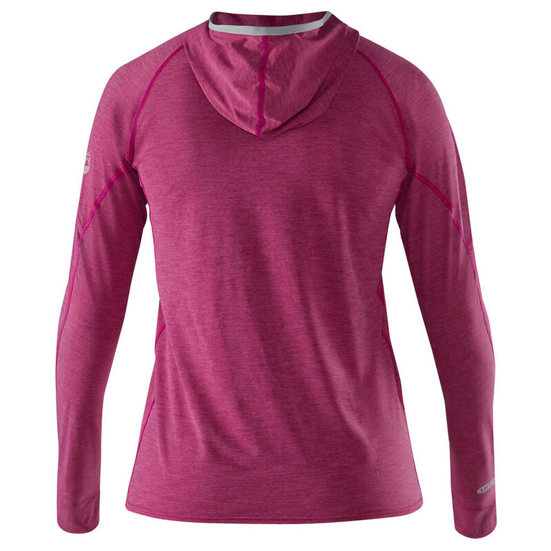 NRS Women's H2Core Silkweight Hoodie image number 3