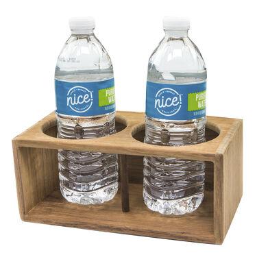 SeaForce Teak Two Insulated Drink Rack